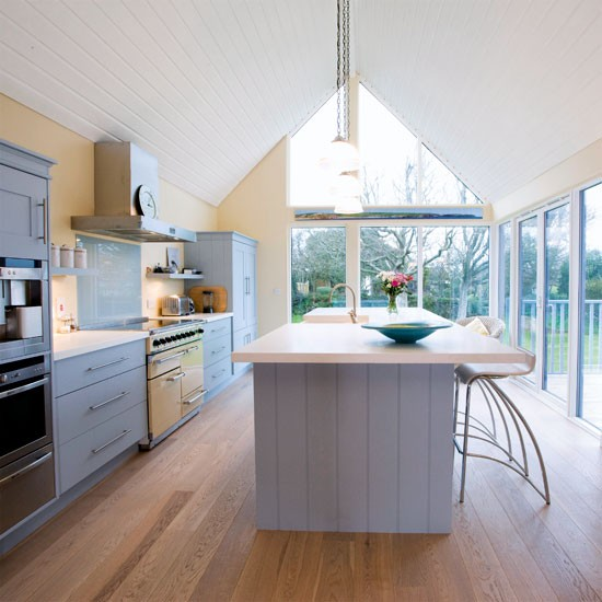 Vaulted roof kitchen extension kitchen extensions for Kitchen ideas extension
