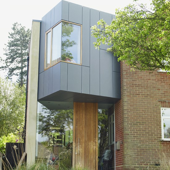 A contemporary exterior | Extended Thirties house | PHOTO GALLERY | Ideal Home | Housetohome