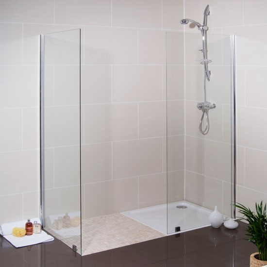 Walk In Glass Shower Screen From Better Bathrooms Walk