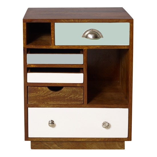 Percy Wood Bedside Cabinet Retro Trend Home Trends