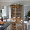 Festive oak dining room