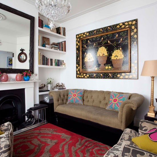 Ways To Decorate Small Living Rooms Small Living Room