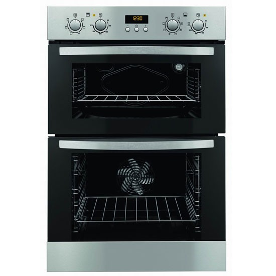 zod35702xk 90cm built in electric double oven from zanussi. Black Bedroom Furniture Sets. Home Design Ideas