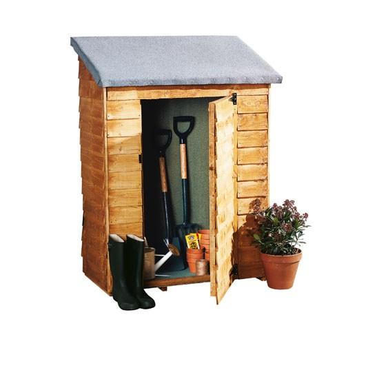 Forest garden potting bench instructions garden storage for Garden shed repair parts