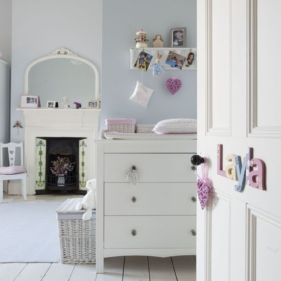 Pretty pastel nursery | Children's rooms | PHOTO GALLERY | Ideal Home | Housetohome