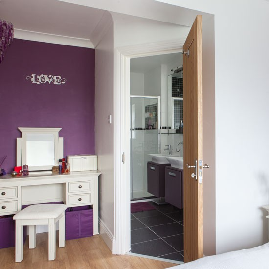 Master bedroom with en suite be inspired by an updated 1930s home in essex Master bedroom ensuite and dressing room