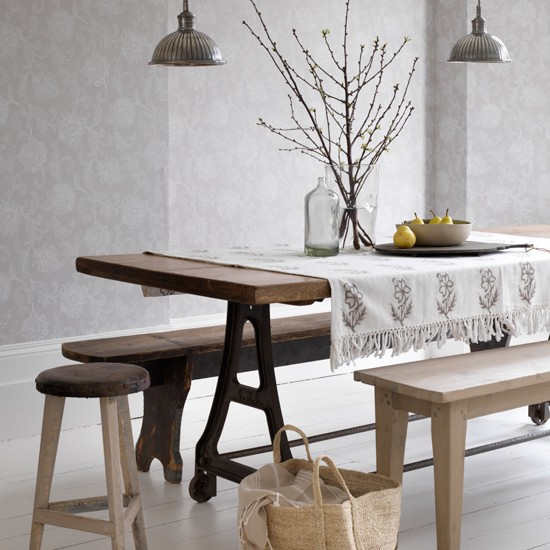 rustic dining table and bench photo gallery country homes and