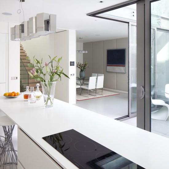 Kitchen Design Open Plan: Open- Plan Kitchen With A View