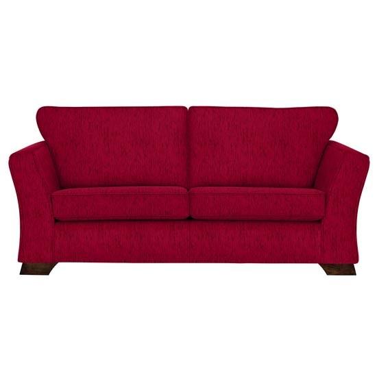 Red sofa from marks spencer budget sofas housetohome - Marks and spencer living room ideas ...