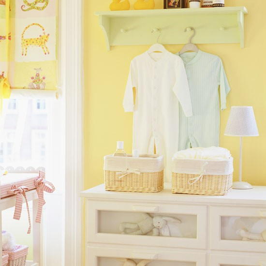 Bright and sunny nursery | Children's rooms | PHOTO GALLERY | Ideal Home | Housetohome