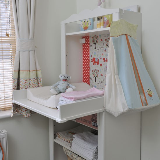 Practical changing table | Children's rooms | PHOTO GALLERY | Ideal Home | Housetohome