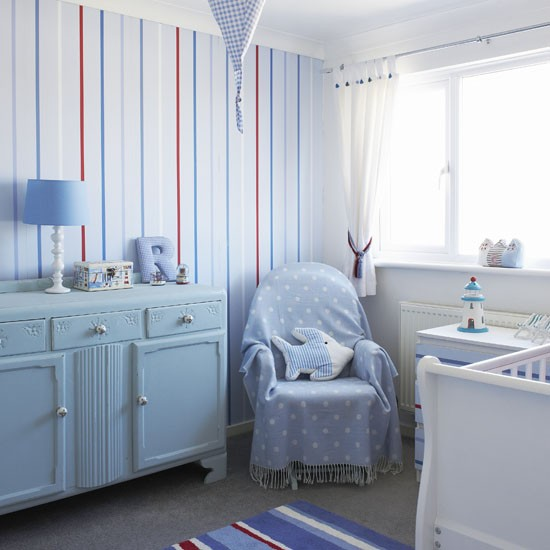 Striped walls | Children's rooms | PHOTO GALLERY | Ideal Home | Housetohome