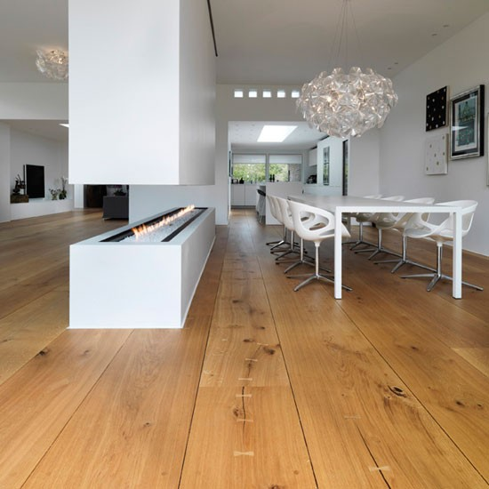 Oak flooring kitchen flooring ideas for Kitchen flooring ideas uk
