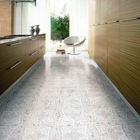 Grey kitchen floor tiles kitchen flooring ideas 10 of for Kitchen flooring ideas uk