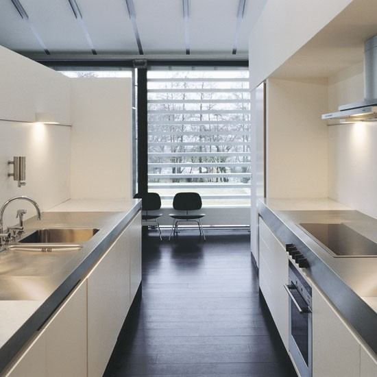 Minimal galley kitchen | Galley kitchens | housetohome.
