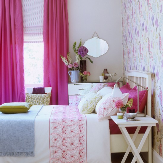 Pink and blue country bedroom gorgeous pinks 10 for Pink and blue bedroom