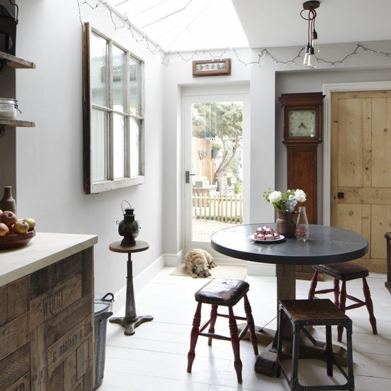 Kitchen diner be inspired by this vintage style terraced for Victorian terrace dining room ideas