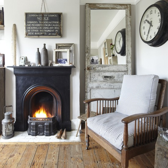 Living room | Vintage style | Victorian terraced house | PHOTO GALLERY | Ideal Home | Housetohome