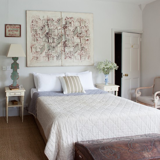Classic Georgian Inspired Bedroom Summer Style Home
