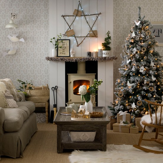 Cabin Christmas Decorating Ideas House Design And Decorating Ideas
