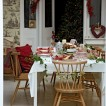 Scandi-style Christmas dining room