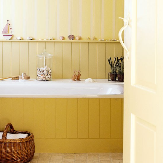 Yellow Bathroom How To Decorate With Yellow And Orange