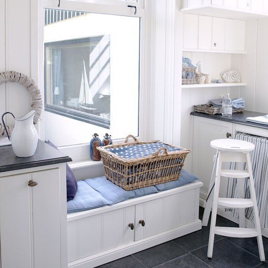 Utility room storage | PHOTO GALLERY | Country Homes and Interiors | Housetohome.co.uk