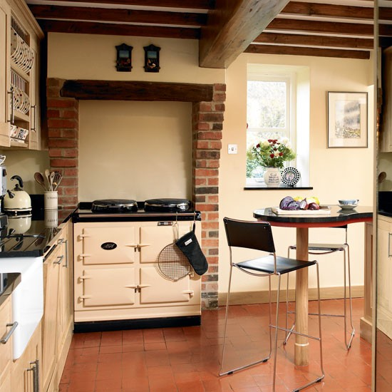 Country style kitchen small kitchen design ideas for Country themed kitchen ideas