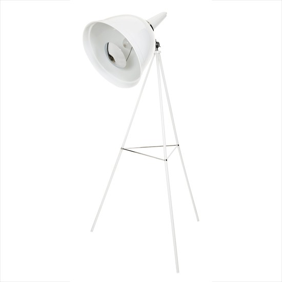 white floor lamp from bhs create a bright bedroom scheme With white floor lamp bhs