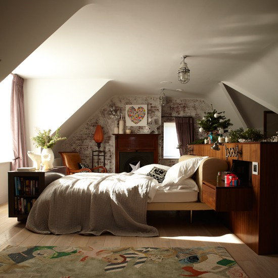 Neutral country style bedroom country decorating ideas for Bedroom design uk