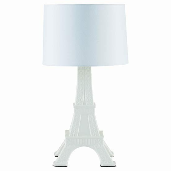 tour eiffel ceramic lamp from tesco direct table lamps. Black Bedroom Furniture Sets. Home Design Ideas