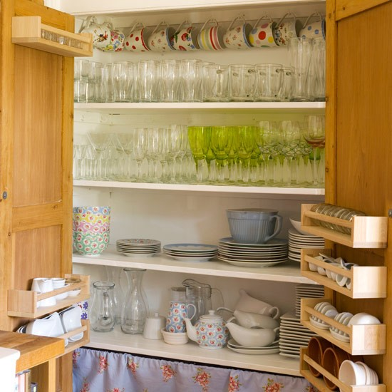 Larder Style Cupboard Country Kitchen Ideas