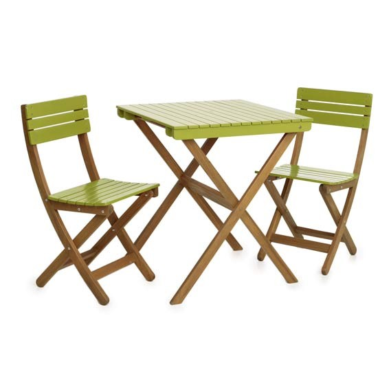 Garden bistro set from Wilkinson Garden furniture