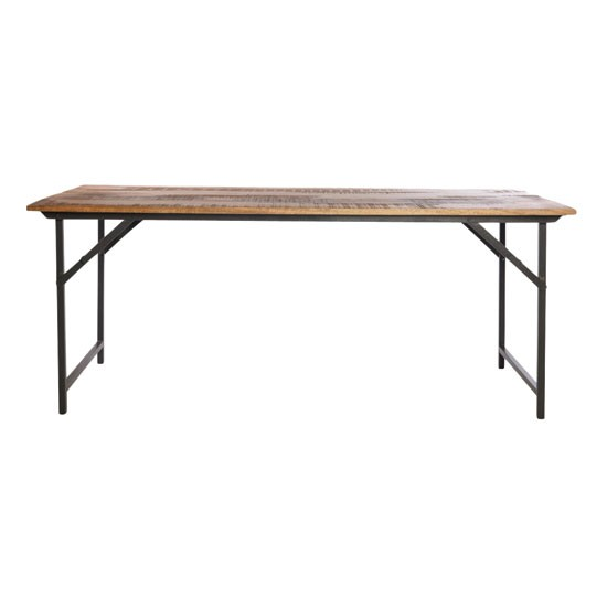 Industrial style dining table from cox cox dining for Best dining tables uk
