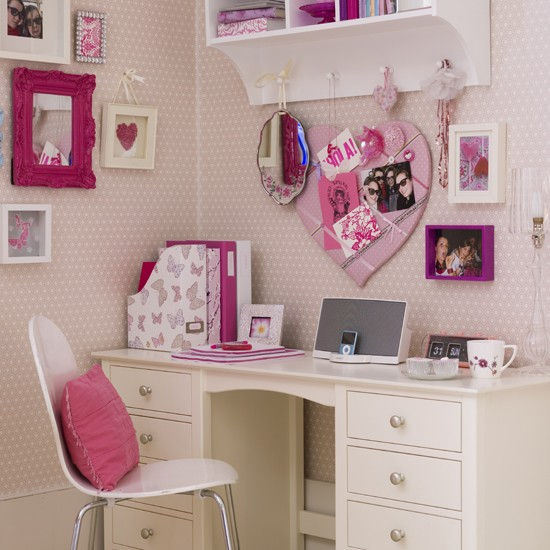create a neat study space teenage girls 39 bedroom ideas