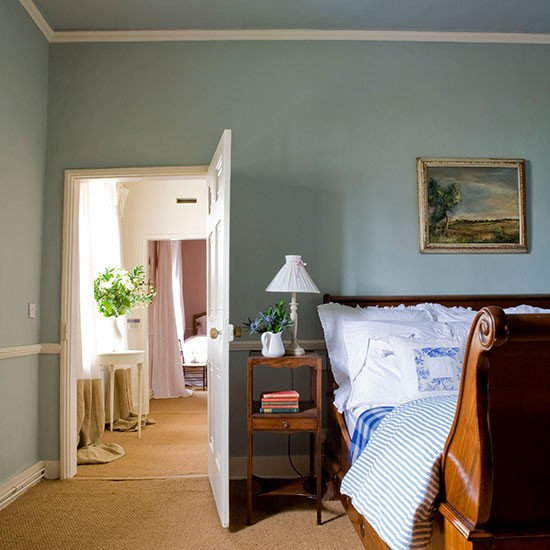 Main bedroom | Georgian house tour in Lincolnshire | PHOTO GALLERY | Homes & Gardens | housetohome.co.uk