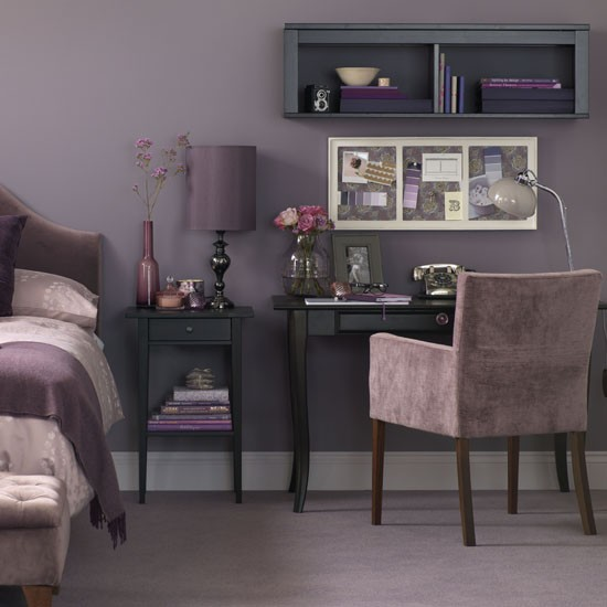 Bedroom work space | Home office | PHOTO GALLERY | Ideal Home | Housetohome.co.uk
