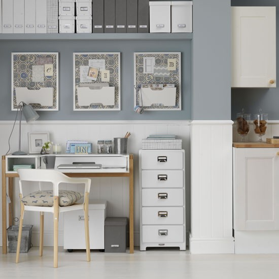 Compact work space | Home office | PHOTO GALLERY | Ideal Home | Housetohome.co.uk