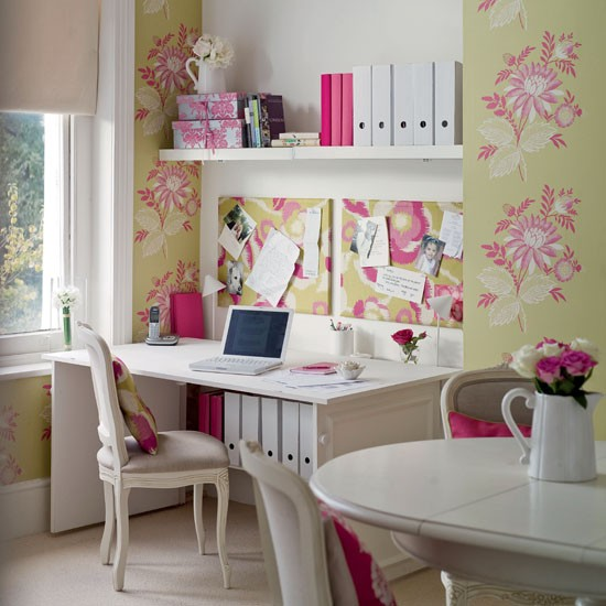 Hideaway dining room office | Home office | PHOTO GALLERY | Ideal Home | Housetohome.co.uk