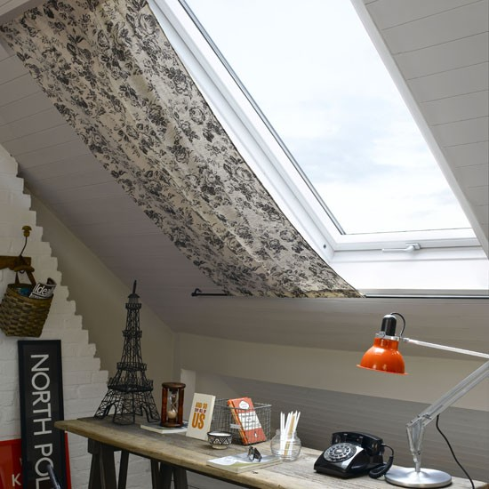 Loft office space | Home office | PHOTO GALLERY | Ideal Home | Housetohome.co.uk