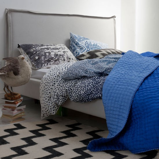 Bedroom rugs | Modern bedrooms | PHOTO GALLERY | Homes & Gardens | Housetohome.co.uk