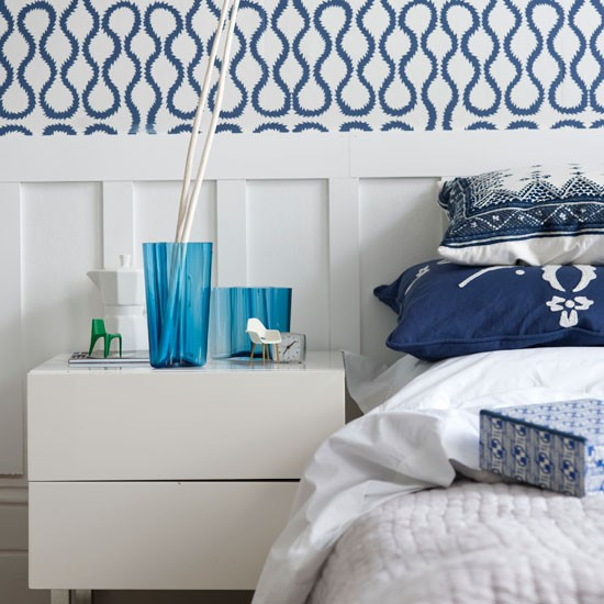 Wall panelling | Modern bedrooms | PHOTO GALLERY | Homes & Gardens | Housetohome.co.uk