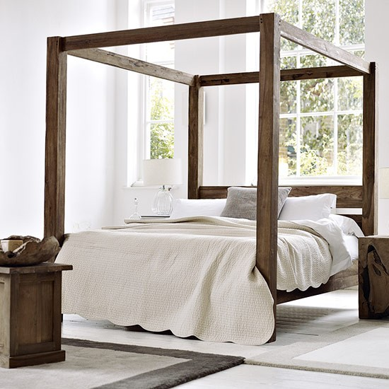 Find a simple four-poster bed | Celia Rufey's furniture decorating tips and advice | Furniture decorating ideas | Celia Rufey | PHOTO GALLERY | FAQ | Homes & Gardens | Housetohome