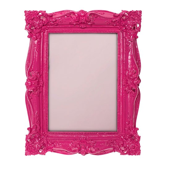Linea Pink Baroque Photo Frame From House Of Fraser