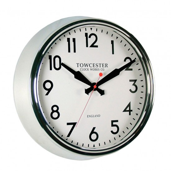 retro wall clock by acctim from bhs kitchen shopping
