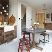 Rustic antique kitchen-diner 