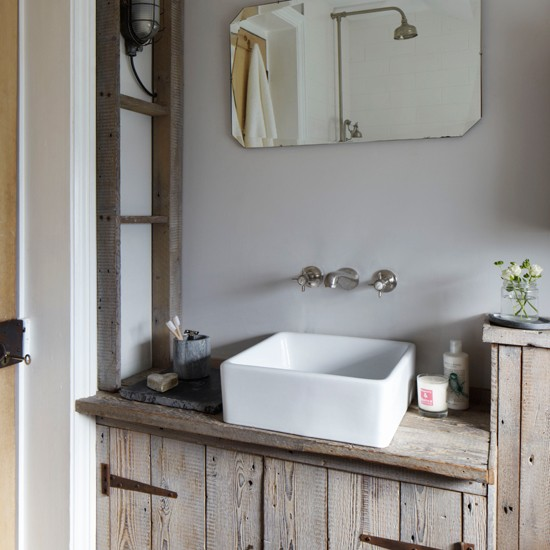 Unique   Rustic  Bathroom Vanity Units Amp Sink Cabinets  By FoxDen Decor