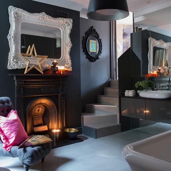 Luxury open plan bathroom for Living etc bathroom ideas