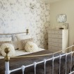 Pale cream country bedroom