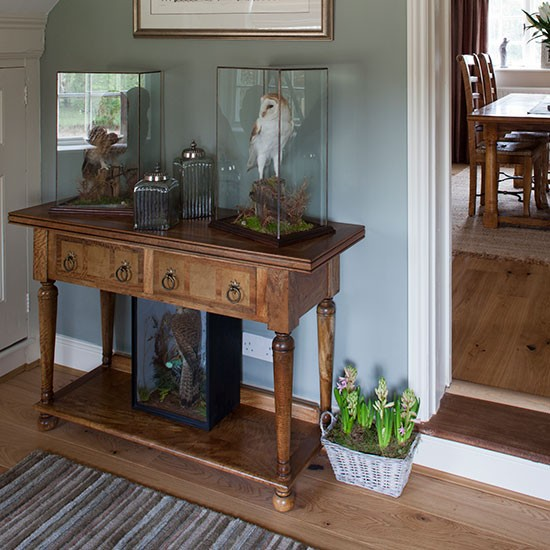 Hallway | Take a tour around a remodelled country home in Norfolk | House tour | PHOTO GALLERY | 25 Beautiful Homes | Housetohome.co.uk